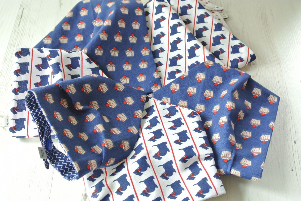 Cupcake and Scotties Bandanas